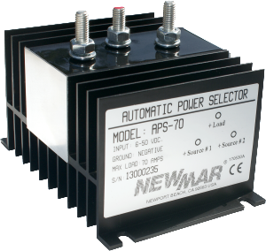 Newmar Powering the Network Automatic Power Selector, 12V, 24V and 48V DC, 70 - 160 amps