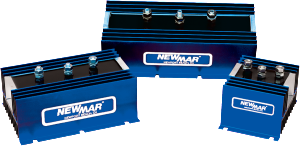 Newmar Powering the Network Battery Isolators for 12V, 24V and 48V DC battery bank management