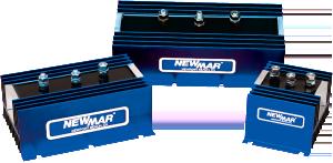 Newmar Powering the Network Battery Isolators for 12V, 24V and 48V DC battery bank management