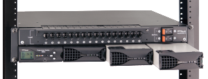 Rackmount Centurion II N+1 Redundant Rectifier DC Power System, 24V DC and 48V DC, 1000 watts to 6000 Watts fully integrated by Newmar Powering the Network