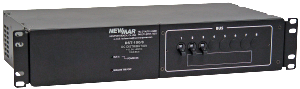 Rack Mount Circuit Breaker Distribution model DST-100/8, 100 amps, 8 circuits, 12V DC, 24V DC and 48V DC by Newmar Powering the Network