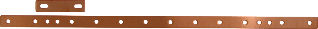 GB-19 Copper Rackmount Bus Bar by Newmar Powering the Network