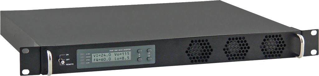 Rackmount DC-AC Inverter, 1 RU, 1000 Watts Output by Newmar Powering the Network