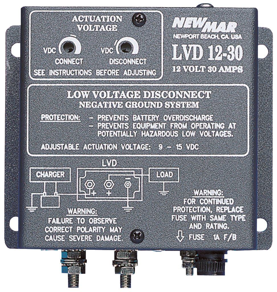 Low Voltage Disconnect 12v Dc 24v Dc 48v Dc 30