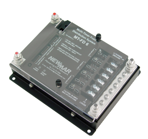 Mobile Mount Multi-Timer Fuse Distribution, 12V DC, 100 Amps, model MT-FD-6, for specialty vehicle by Newmar Powering the Network