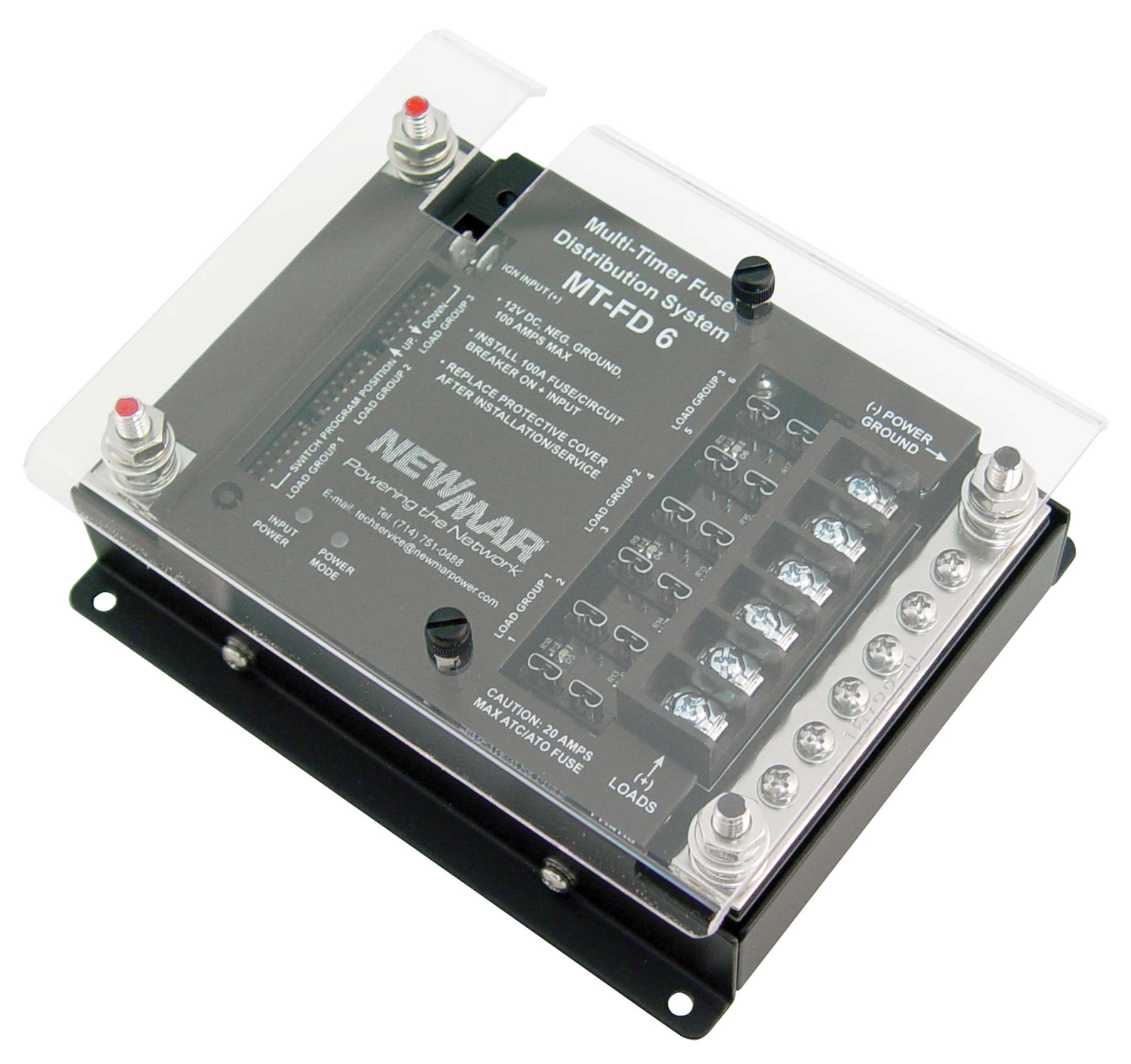 MT FD multi timer fuse distribution system 12v dc 100 amps mobile fuse box timer at mr168.co