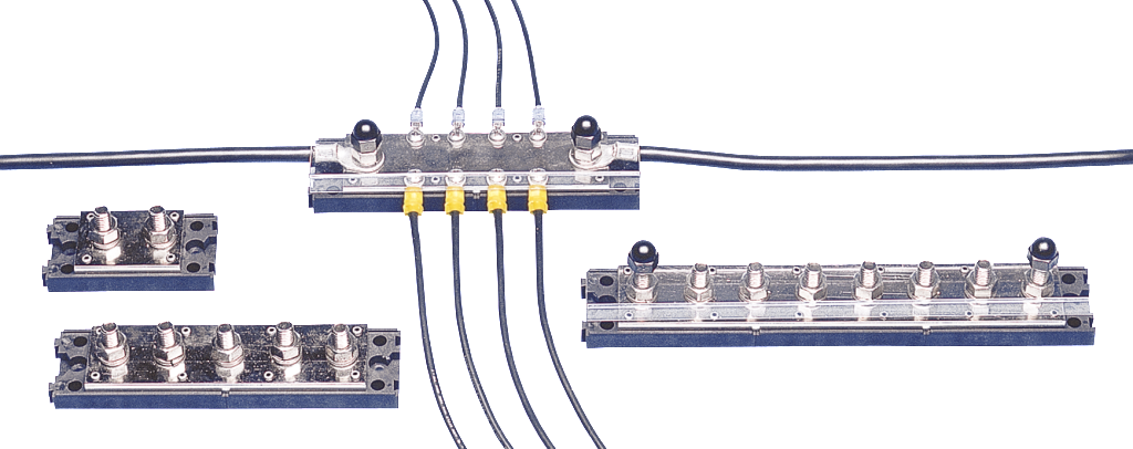 Mobile mount bus bars by Newmar Powering the Network