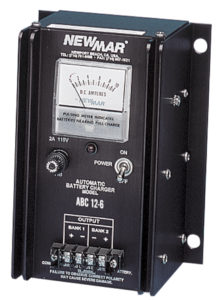 12V DC, 6 Amp Mobile and Wall Mount Battery Charger by Newmar Powering the Network