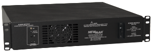 Powering the Network with Rackmount DC Power Supply Power Module Series, 12V, 24V, and 48V DC, 560 - 2200 watts by Newmar