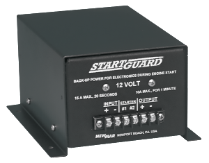 Newmar Powering the Mobile Network with the StartGuard protects against engine start