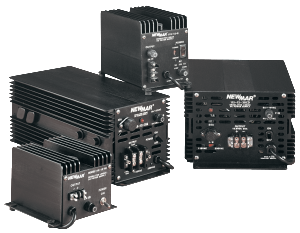 Heavy Duty Power Supply Series, Wall Mount, Mobile Mount and Bench Mount, 12V DC and 24V DC, 5 amps to 35 amps by Newmar Powering the Network