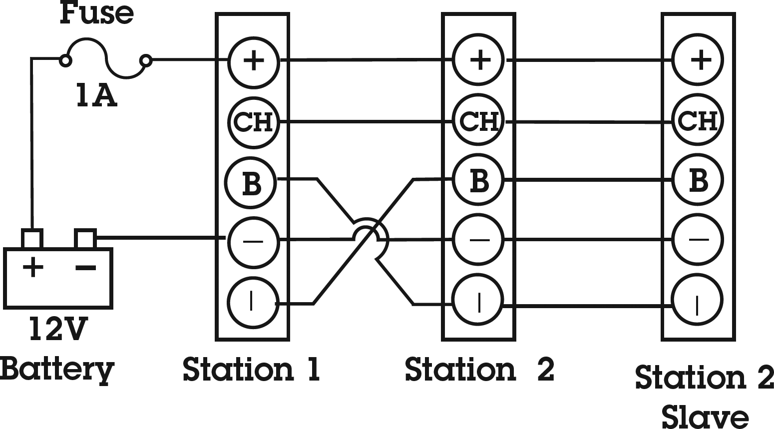 Phone Com Systems Newmar Powering The Network Schematic Wiring Diagram 2 Station