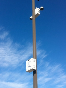 Tapping Light Pole Power For Din Rail Dc Ups System For