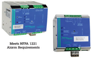 Newmar Powering the Network DIN Rail Battery Detection System and DC UPS that Meets NFPA 1221 Requirements