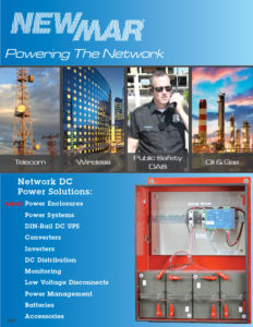 Newmar Powering the Network Rackmount and DIN Rail DC Power Solutions including battery back-up, rectifiers, power supplies, DC-DC Converters and Integration