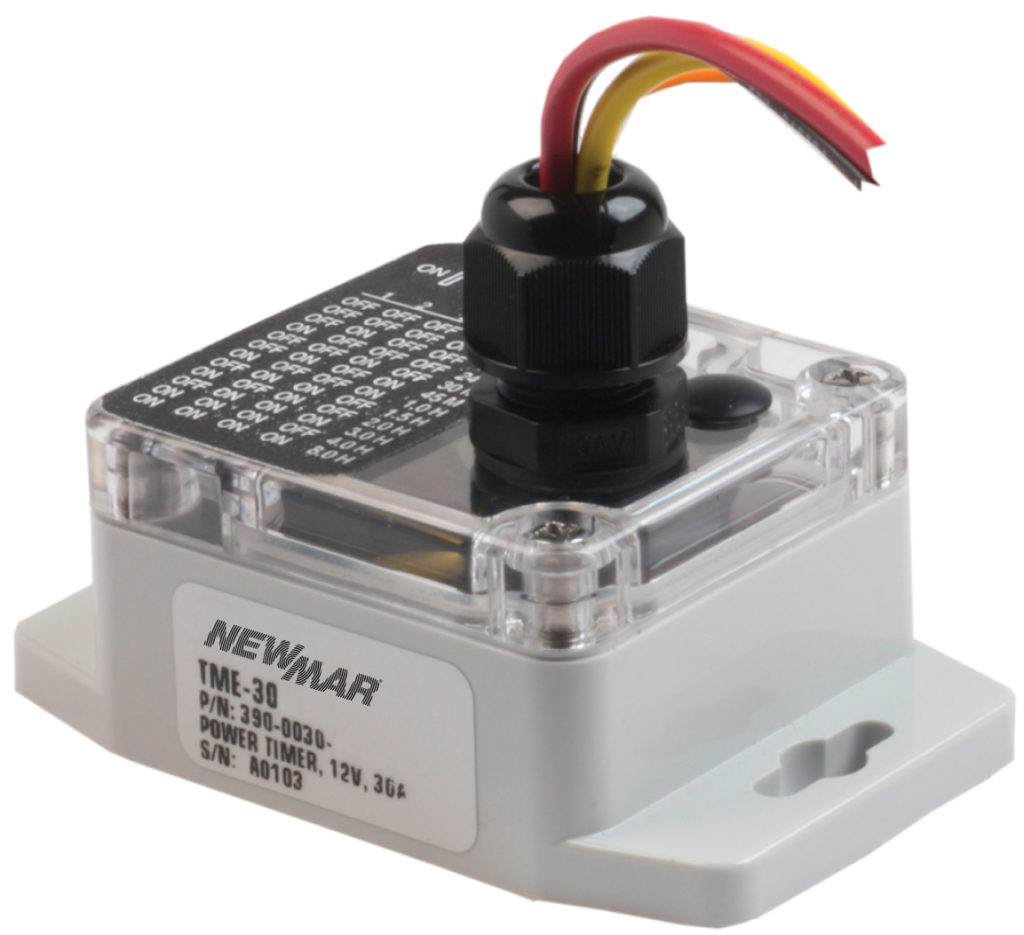Mobile DC Power Timer modoel, TMR-30A, 12VDC, 30 amps by Newmar Powering the Network