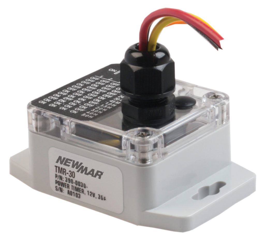 TMR-30N, 12V DC, Power Timer for mobile applications by Newmar Powering the Network