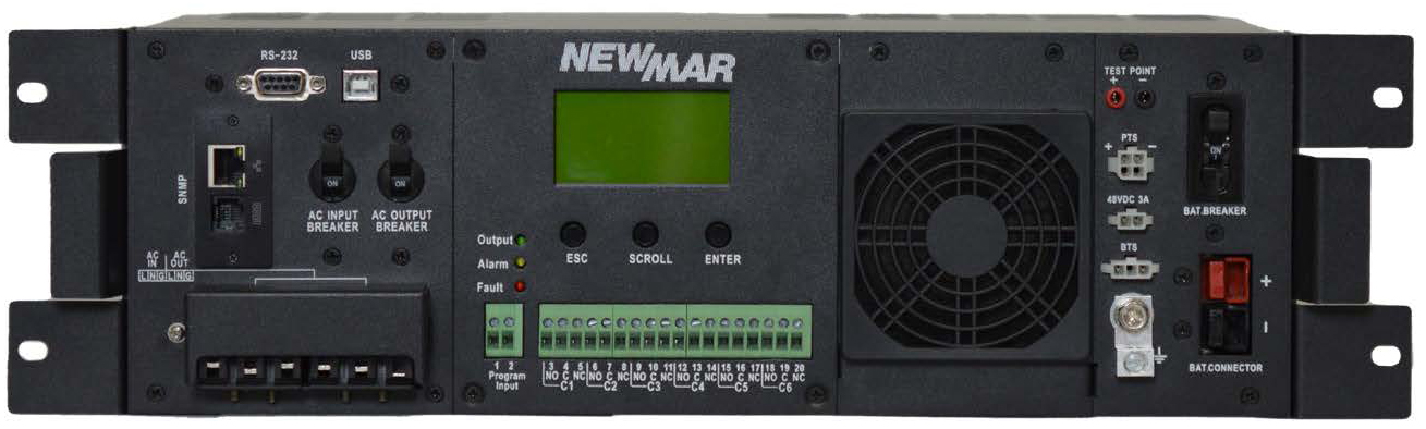 Rugged AC UPS Series by Newmar